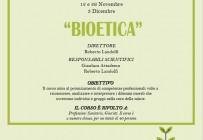 Bioetica - ISCRIZIONI CHIUSE