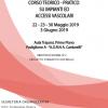 Corso teorico-pratico su Impianti ed Accessi Vascolari - ISCRIZIONI CHIUSE -