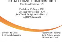 Internet e Banche Dati Biomediche - ISCRIZIONI APERTE