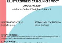 ILLUSTRAZIONE DI CASI CLINICI E MDCT - ISCRIZIONI CHIUSE