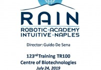 RAIN - Robotic Academy Intuitive Naples - 123rd Training TR100
