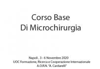 Corso Base Di Microchirurgia
