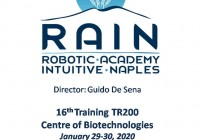 RAIN - Robotic Academy Intuitive Naples - 16th Training TR200