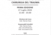 TRAUMA EMERGENCY SURGERY LAB: TECNICA CHIRURGICA DI BASE IN CHIRURGIA DEL TRAUMA - ISCRIZIONI CHIUSE -
