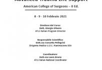 Corso RES - Corso ATLS: Advanced Trauma Life Support - American College of Surgeons - II Ed. - ISCRIZIONI CHIUSE -