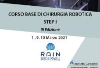 Corso RES - CORSO BASE DI CHIRURGIA ROBOTICA STEP I - III Ed.