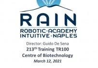 RAIN - Robotic Academy Intuitive Naples - 213th Training TR100