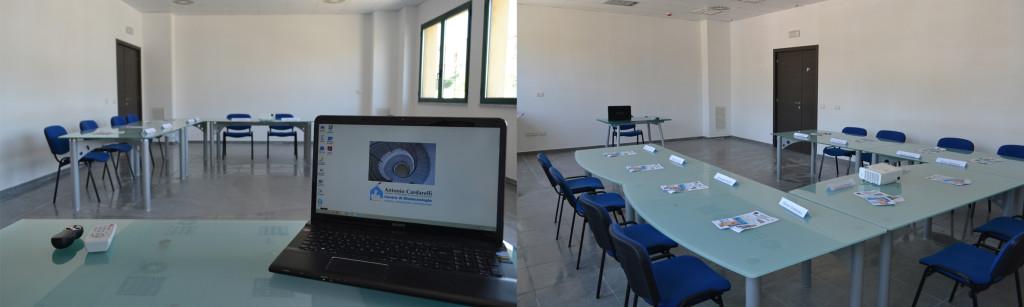 Centro di Biotecnologie. Le aule. Aula Multimediale 1
