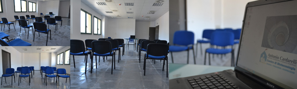 Centro di Biotecnologie. Le aule. Aula Multimediale 2
