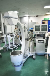 Centro Biotecnologie. Fluoroscopio