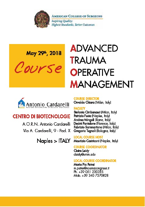 ATOM: ADVANCED TRAUMA OPERATIVE MANAGEMENT