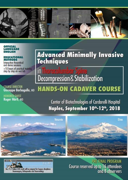 Advanced Minimally Invasive Techniques in Thoracolumbar Spine - Decompression & Stabilization