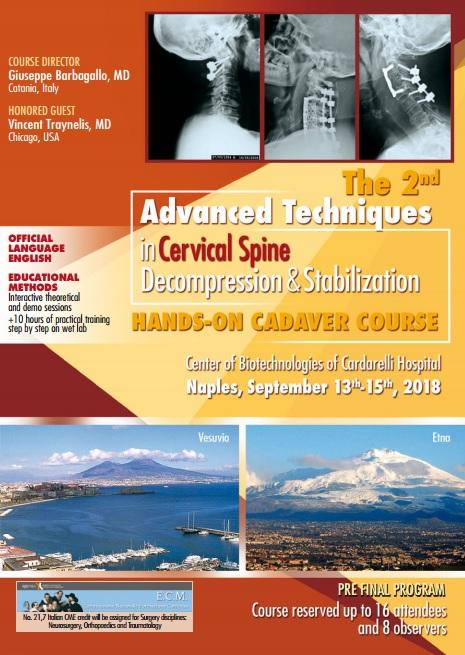Advanced Techniques in Cervical Spine - Decompression & Stabilization