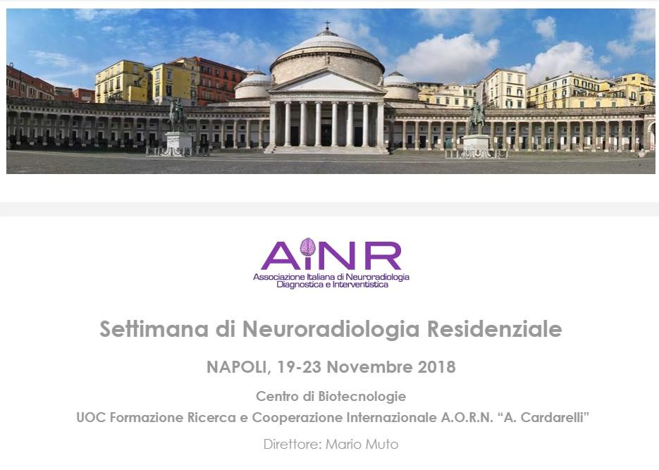 Settimana di Neuroradiologia Residenziale