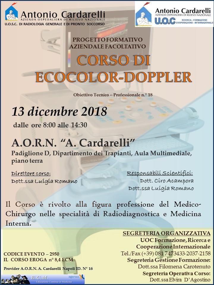"Corso di Ecocolor-Doppler   | <a href=""http://www.centrodibiotecnologie.org/wp-content/uploads/2018/12/locandina_Ecocolordoppler-.jpg""> Vedi locandina </a>"