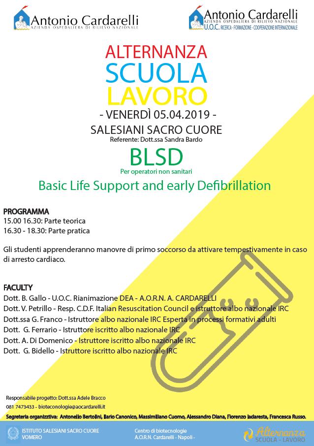 Progetto Alternanza Scuola Lavoro - Istituto Salesiani Sacro Cuore