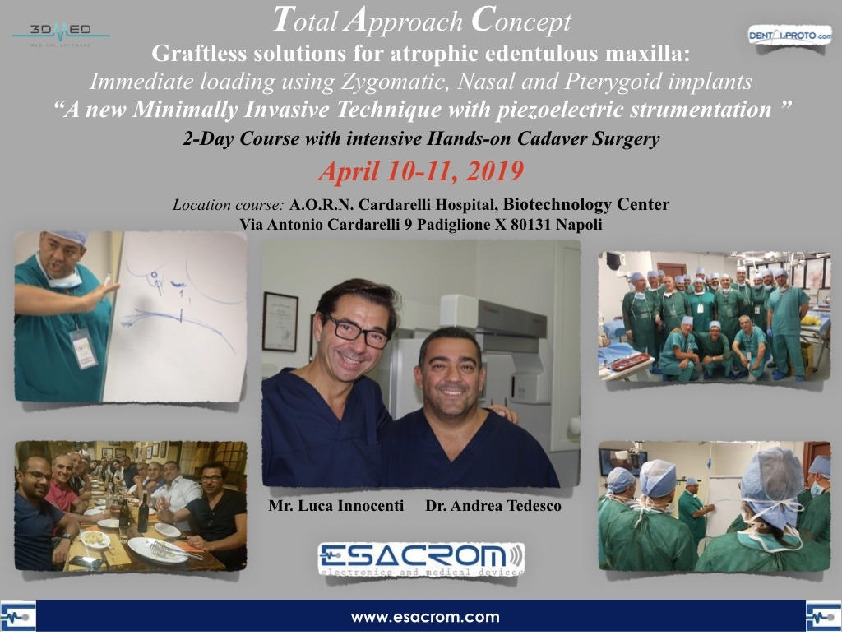 "Total Approach Concept "" A new minimally Invasive Technique with piezoeletric strumentation"""