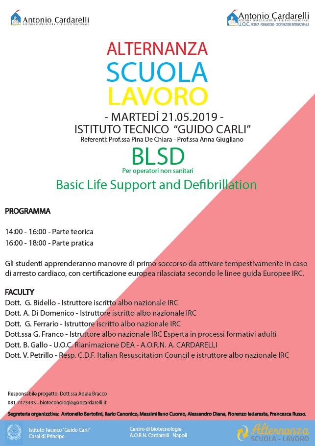 Alternanza Scuola Lavoro - BLSD
