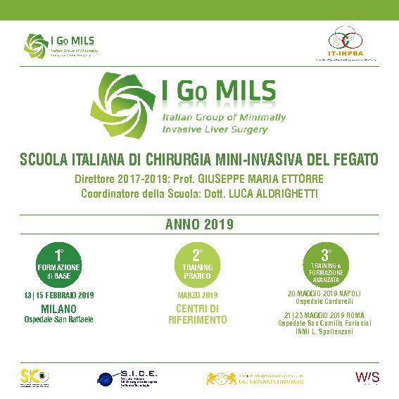 I GO MILLS - SCUOLA ITALIANA DI CHIRURGIA MINI-INVASIVA DEL FEGATO
