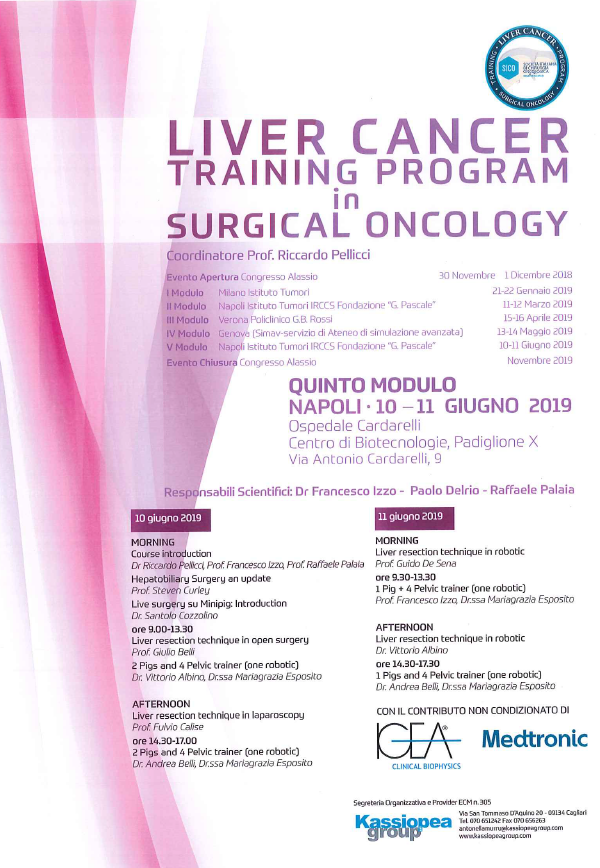 Liver Cancer - Training Program in Surgical Oncology