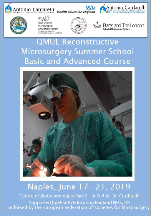 QMUL Reconstructive Microsurgery Summer School Basic and Advanced Course