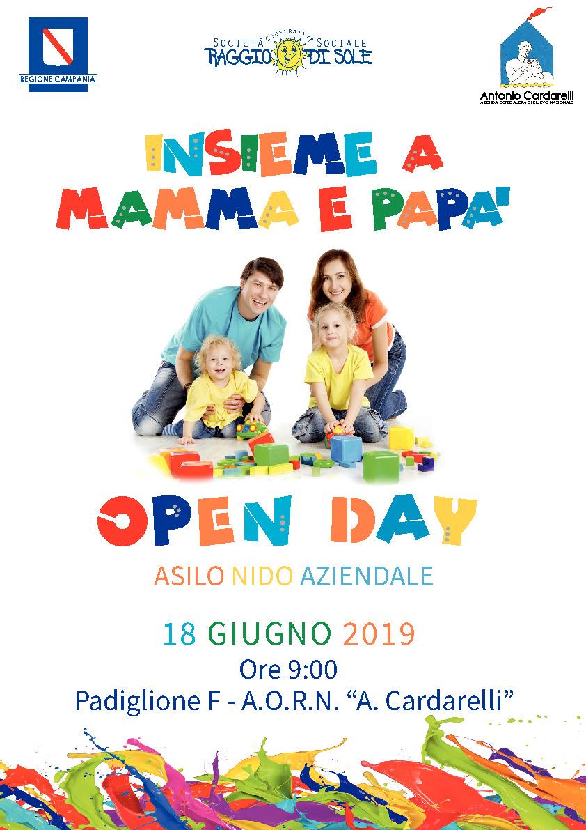 Open Day - Asilo Nido Aziendale Cardarelli
