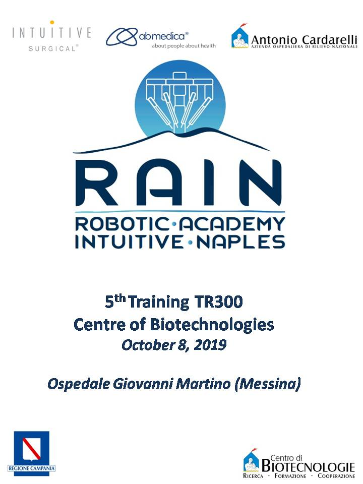 RAIN - Robotic Academy Intuitive Naples - 5th Training TR300