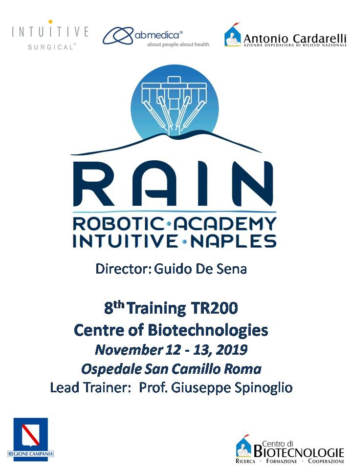 RAIN - Robotic Academy Intuitive Naples - 8th Training TR200