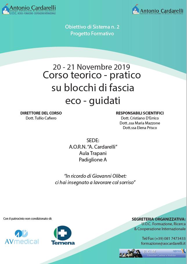 Corso Teorico-Pratico su Blocchi di Fascia Eco-Guidati - ISCRIZIONI CHIUSE -