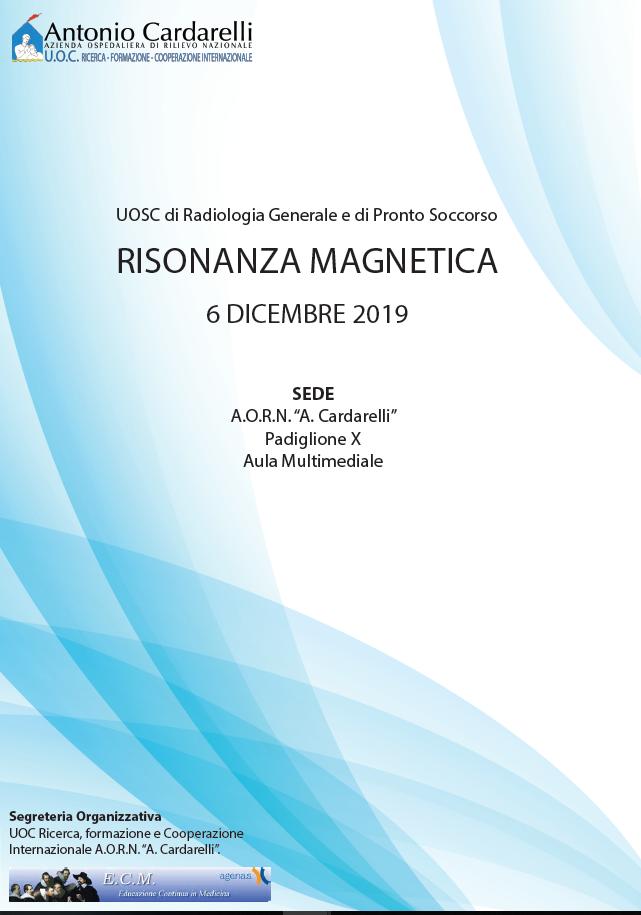 Risonanza Magnetica - ISCRIZIONI CHIUSE -