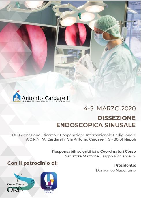 Dissezione Endoscopica Sinusale