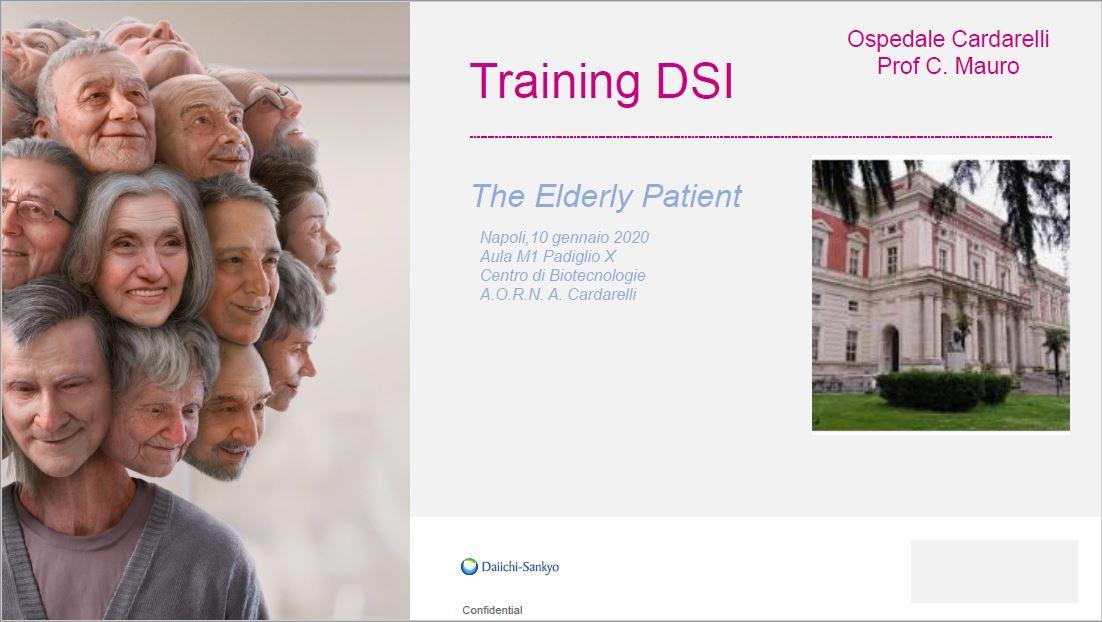 Training DSI - The Elderly Patient