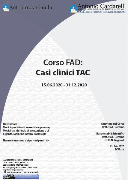 Corso FAD - Casi clinici TAC