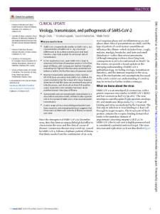 thumbnail-of-virology-transmission-and-pathogenesis-of-sars-cov-2