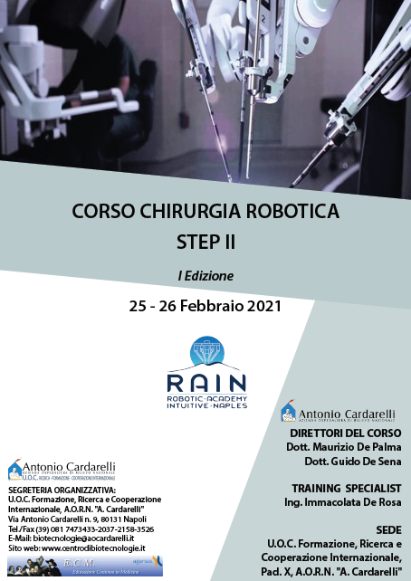 Corso RES - CORSO CHIRURGIA ROBOTICA STEP II I Ed.