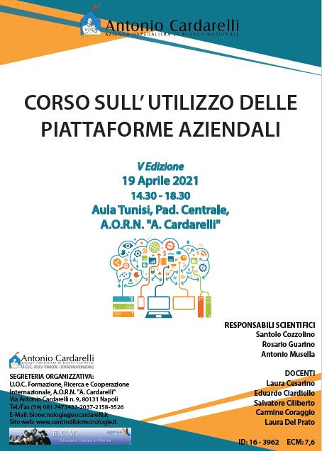 Corso RES – CORSO SULL' UTILIZZO DELLE PIATTAFORME AZIENDALI V Ed. – ISCRIZIONI CHIUSE –