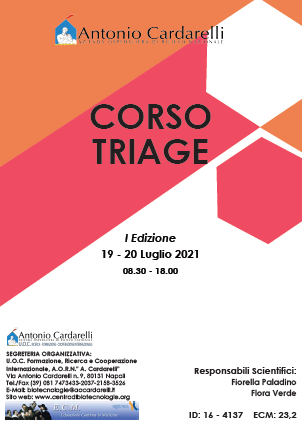 Corso RES - CORSO TRIAGE - ISCRIZIONI CHIUSE -