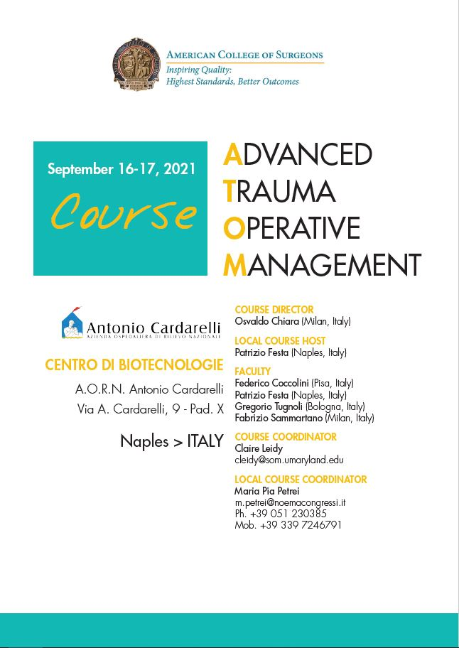 Advanced Trauma Operative Management - ATOM