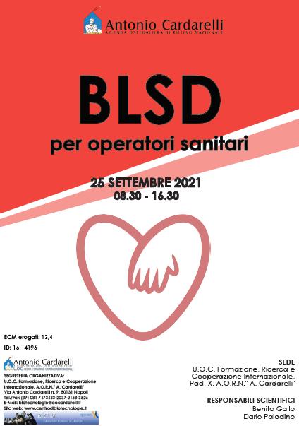 Corso RES - BLSD per operatori sanitari - ISCRIZIONI APERTE -