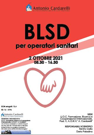 Corso RES – BLSD per operatori sanitari – ISCRIZIONI APERTE –