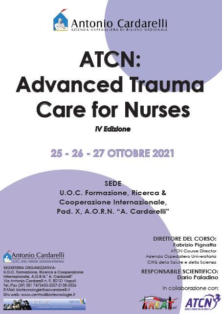 Corso RES - ATCN: Advanced Trauma Care for Nurses IV Ed. - ISCRIZIONI CHIUSE -