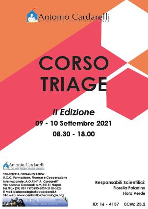 Corso RES - CORSO TRIAGE - II Ed. - ISCRIZIONI CHIUSE -