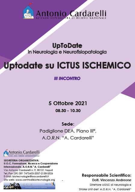 Corso RES - UpToDate in Neurologia e Neurofisiopatologia: Uptodate su Ictus Ischemico - III Incontro